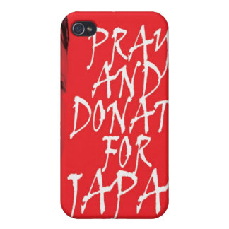 Pray and donate for Japan iPhone 4 Cover
