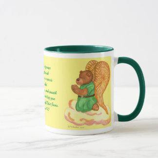 Pray Angel Bear Mug. Mug