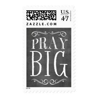Pray Big Chalkboard Lettering Stamp