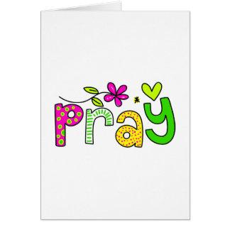 Pray Card