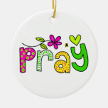 Pray Christmas Ornaments