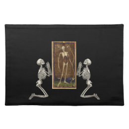 Pray Death Card Placemat