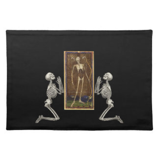 Pray Death Card Placemats