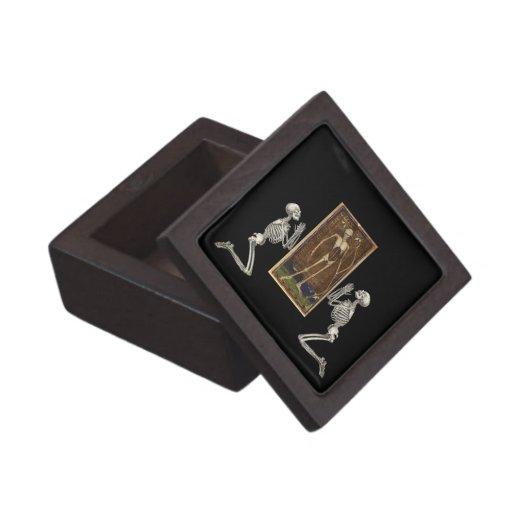 Pray Death Card Premium Jewelry Boxes