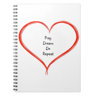 Pray Dream Do Repeat - Heart Journal