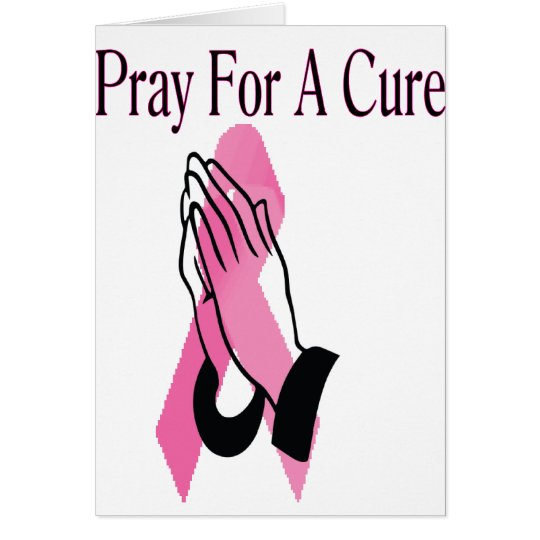 Pray For A Cure Card