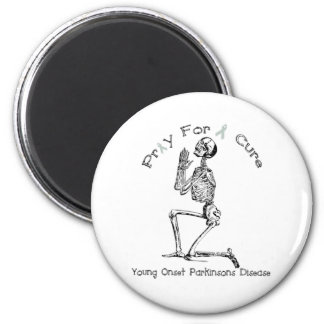 Pray For A Cure-Parkinson's Disease Magnet