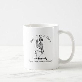 Pray For A Cure-Parkinson's Disease Classic White Coffee Mug