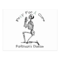 Pray For A Cure-Parkinson's Disease Postcard