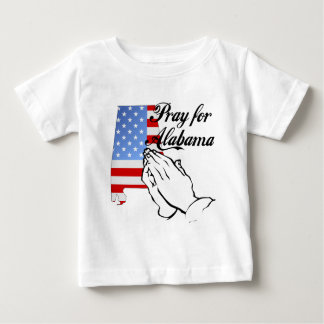 Pray for Alabama Baby T-Shirt