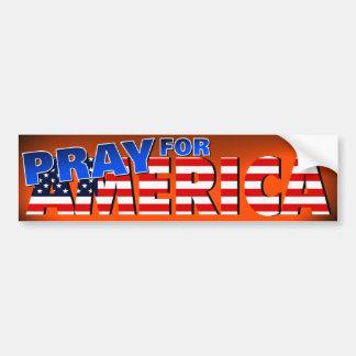 Pray for America 4 Bumper Sticker