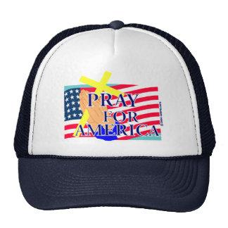 Pray for America christian design Mesh Hat