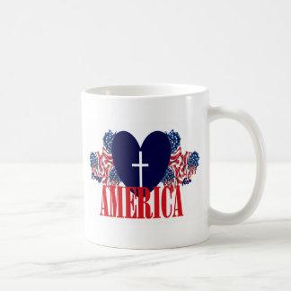 Pray for America Coffee Mug