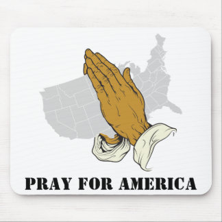 Pray For America Mouse Pad