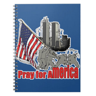 Pray for america notebook