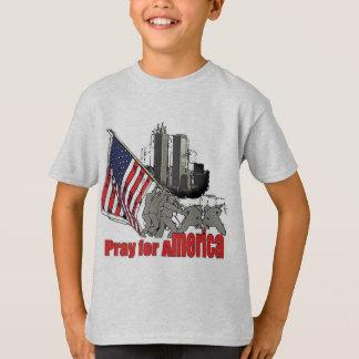 Pray for america T-Shirt