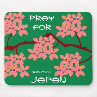 PRAY FOR BEAUTIFUL JAPAN MOUSE PAD