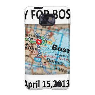 Pray For Boston Map Samsung Galaxy SII Cover