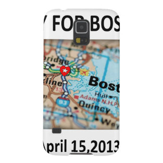 Pray For Boston Map Cases For Galaxy S5