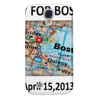 Pray For Boston Map Samsung Galaxy S4 Cases