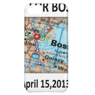 Pray For Boston Map iPhone 5C Case