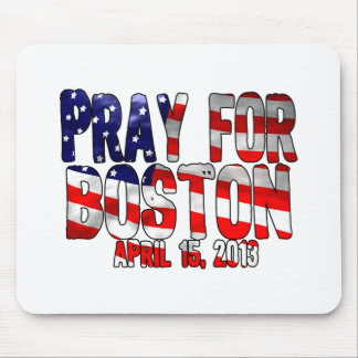 Pray For Boston Mouse Pad