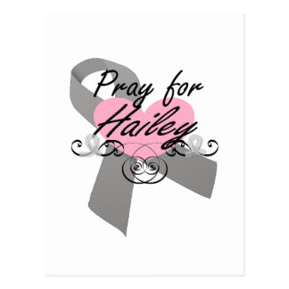 Pray for Hailey Postcard