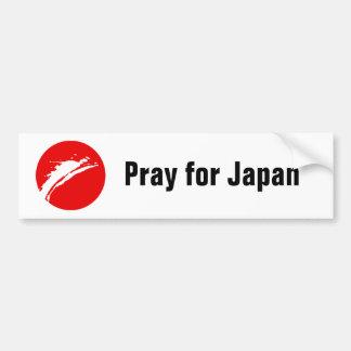 Pray for Japan Bumper Sticker