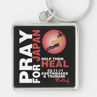 PRAY FOR JAPAN - HELP THEM HEAL KEYCHAIN