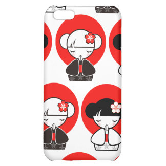 Pray for Japan Kokeshi Doll iPhone 4 Case For iPhone 5C