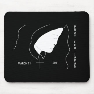 PRAY FOR JAPAN MARCH 11 2011 MOUSE PAD