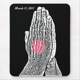 Pray for Japan Mouse Pad