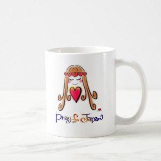 Pray for JAPAN mug w/Love