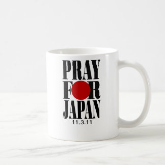 Pray for Japan Mugs Basic White Mug