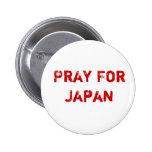 Pray for Japan Pin
