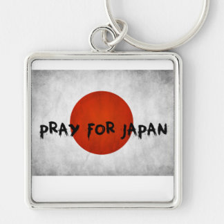 Pray For Japan Relief Keychain