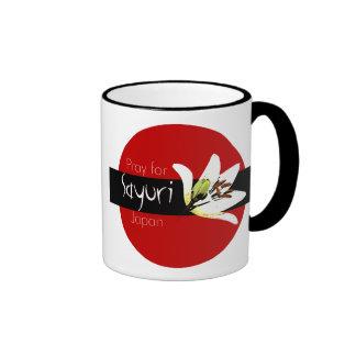 PRAY FOR JAPAN - SAYURI RINGER COFFEE MUG