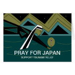 PRAY FOR JAPAN SUPPORT TSUNAMI RELIEF CARDS