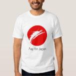 Pray for Japan T Shirt