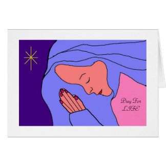 Pray For LIFE Stationery Note Card