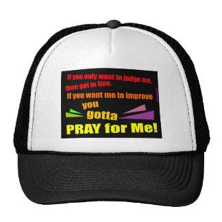 Pray for me Christian gift Trucker Hat