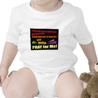 Pray for me Christian gift Tee Shirts