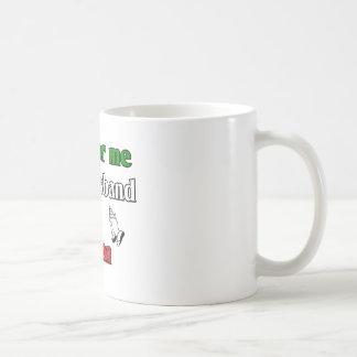 Pray for me my husband is Italian Classic White Coffee Mug