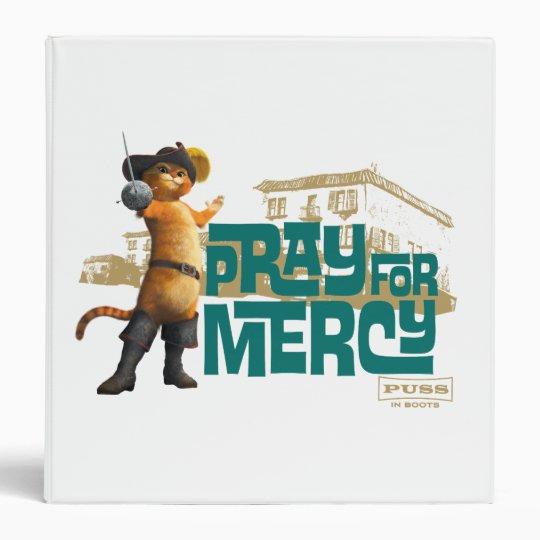 Pray for Mercy (blue) 2 Binder