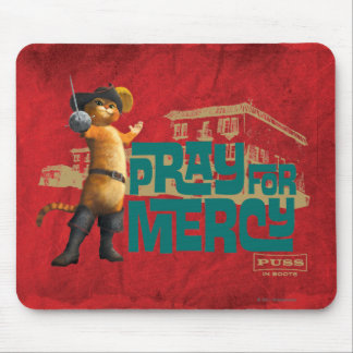 Pray for Mercy (blue) 2 Mouse Pad