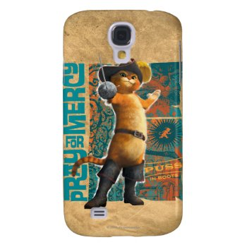 Pray For Mercy (blue) Samsung S4 Case by pussinboots at Zazzle