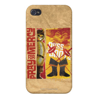 Pray for Mercy (red) iPhone 4 Case