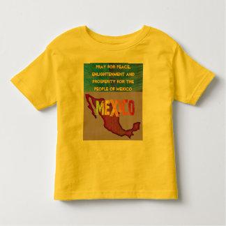 Pray for Mexico toddler shirt