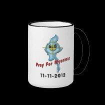 Pray For Myanmar Mugs