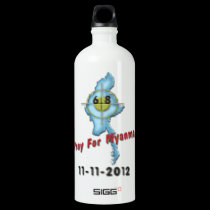 Pray For Myanmar SIGG Traveler 1.0L Water Bottle